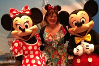 The 3 M's - Mickey, Minnie and Me