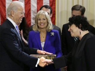 Vice President Biden and Ms. Sutomayor