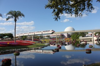 Epcot In Bloom