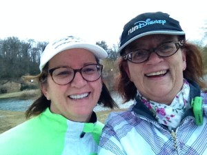 Walking with Annette